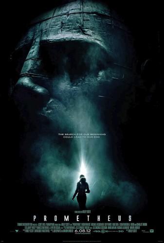 Prometheus, affiche, alien, ridley scott
