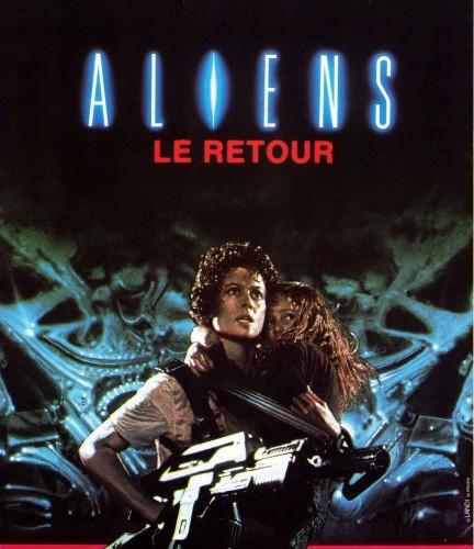 aliens le retour, affiche, james cameron