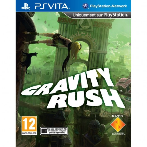 test,gravity rush,sony,ps vita