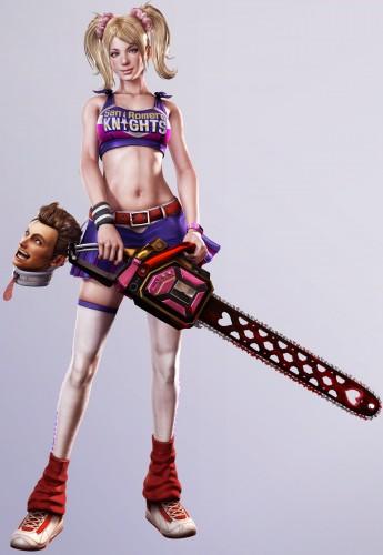 lollipop chainsaw, juliet starling, sexy
