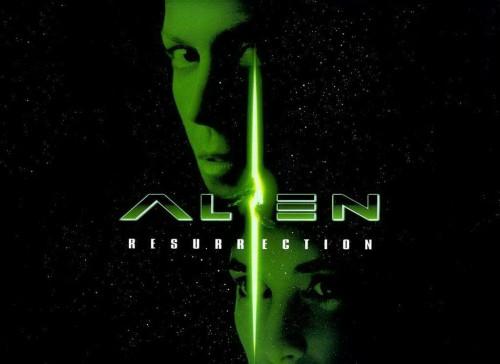 alien la résurrection, affiche, jean-pierre jeunet