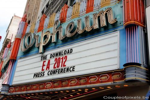 e3 2012,ea,conférences,electronic arts,résumé,compte-rendu