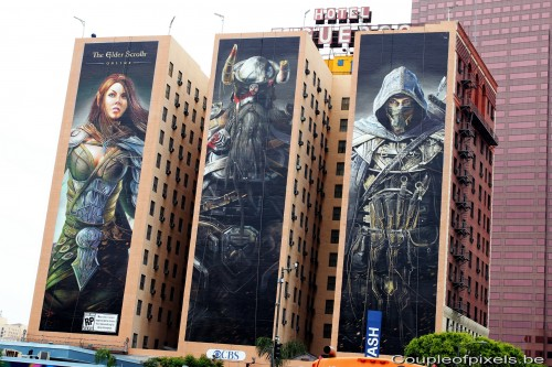 e3 2012,affiche, Eders scroll online