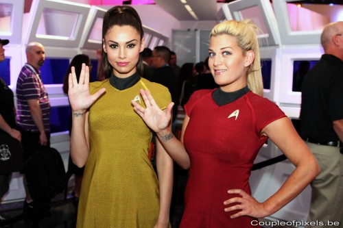 e3 2012, cosplay, babes, star trek