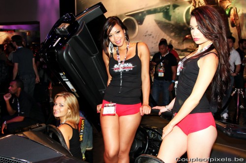 e3 2012,babes,sexy,impressions