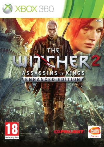 the witcher,xbox360, jaquette