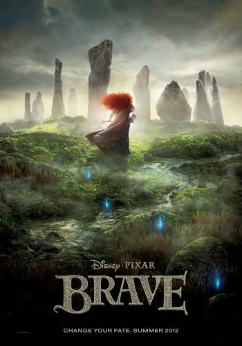 affiche,brave,rebelle,disney,pixar,cinéma,critique