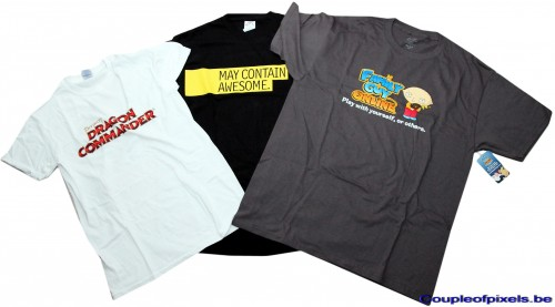 e3 2012,goodies,t-shirt, dragon commander