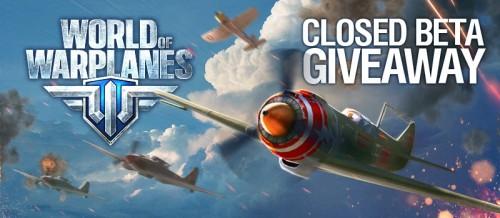 World of Warplanes, béta, clés, concours