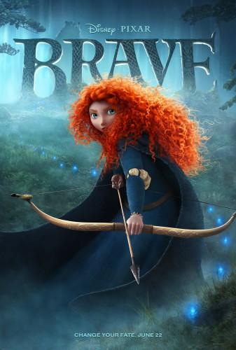 affiche, brave,rebelle,disney,pixar,cinéma,critique