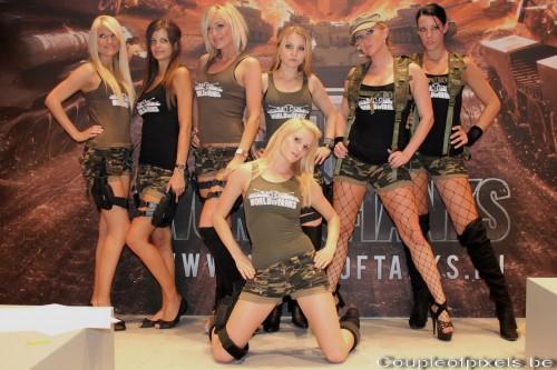World of Tanks Girls, Gamescom 2011