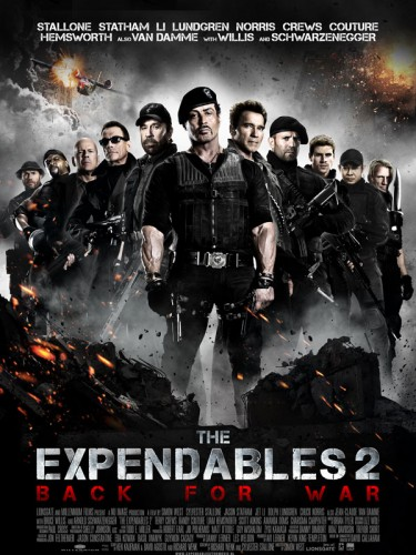 Expendables 2, affiche, concours