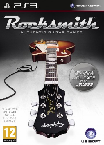 rocksmith,ubisoft,guitare, jaquette, PS3
