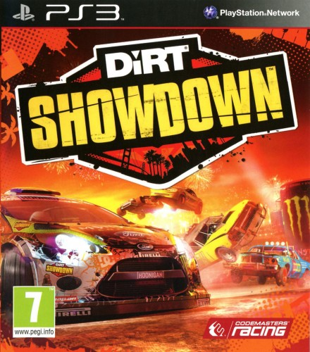 Dirt Showdown, jaquette, ps3