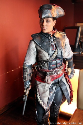 assassin's creed 3,assassin's creed 3 liberation,producer tour,preview,cosplay