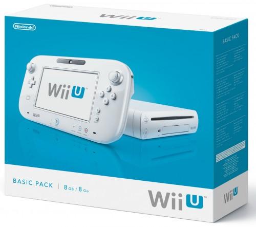 Wii U, pack basic, europe