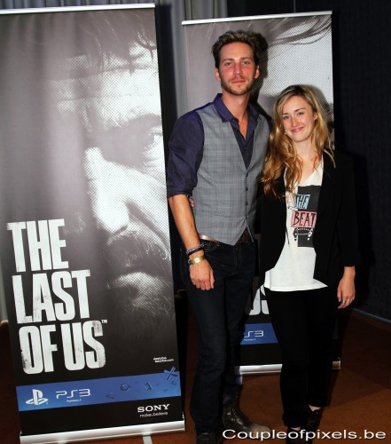 the last of us,ashley johnson,troy baker,motion capture,naughty dog,interview