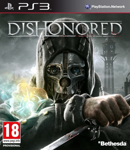 dishonored, jaquette, PS3