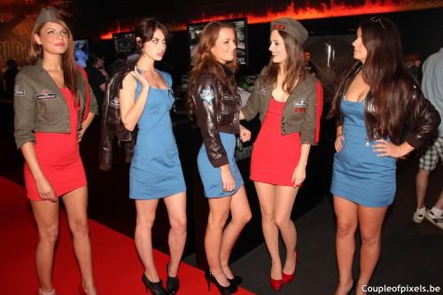 gamescom 2012,sexy,wargaming.net,world of tanks,world of warplanes,lmfao,party girls