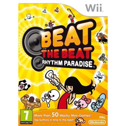 beat the beat,wii,jaquette