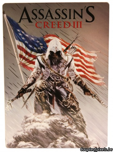 assassin's creed 3,collector,freedom edition,déballage,goodies,figurine