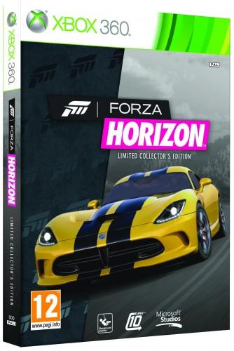 forza horizon, jaquette, Xbox 360