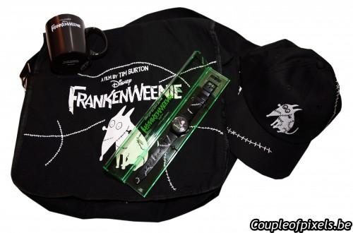 Frankenweenie, concours, gagner, disney, goodies, cinéma