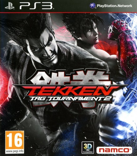 tekken tag tournament 2, jaquette, PS3