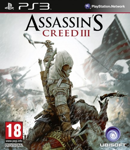 assassin's creed 3, jaquette PS3