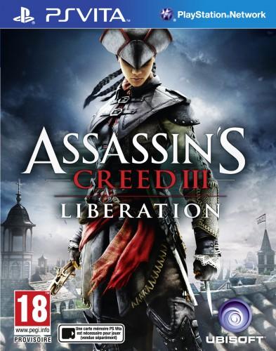 assassin's creed iii : liberation,test,ps vita,ubisoft, jacquette