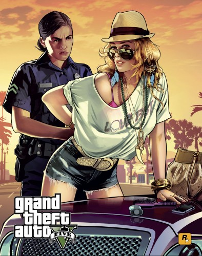 GTA v, gta 5, artwork