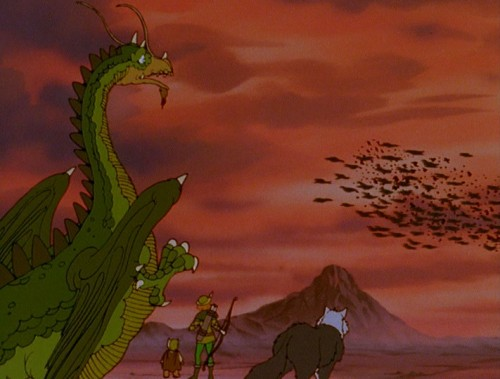 nostalgie, le vol des dragons, the flight of dragons, film, dessin animé, culte
