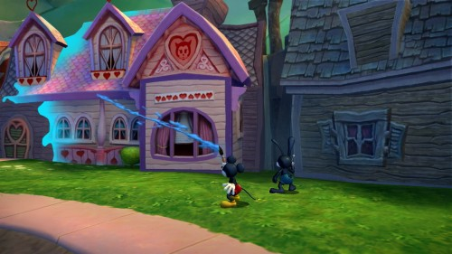 epic mickey 2, test, disney,