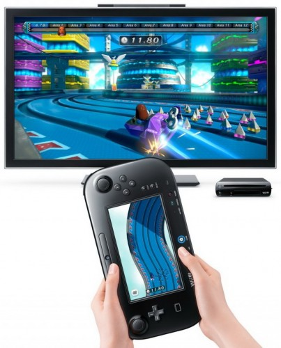 wiiu,test,avis,impression,nintendo land,nintendo, captain Falcon's Twister Race