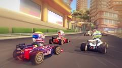 f1 race stars,test,codemasters,mario kart like