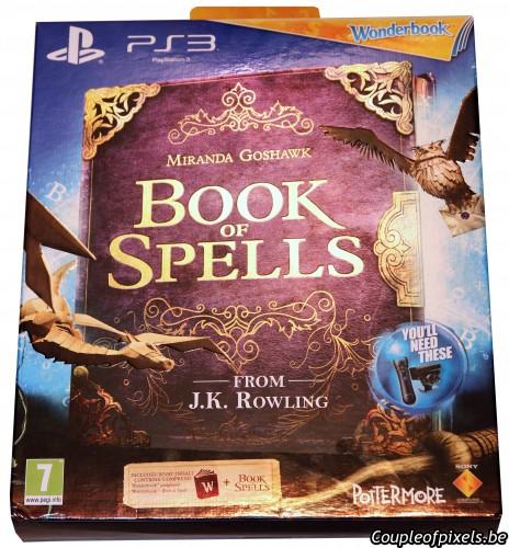 Wonderbook, book of spells, concours