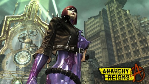 anarchy reigns,platinum games,sega,test,bayonetta