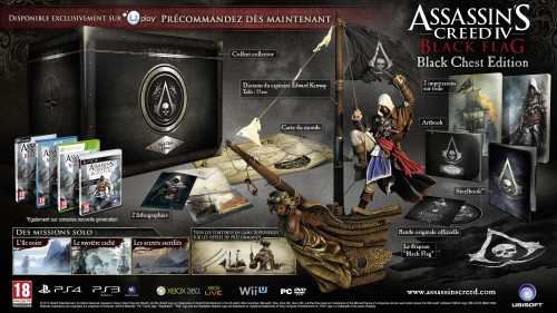 assassin's creed 4 black flag, black chest, collector