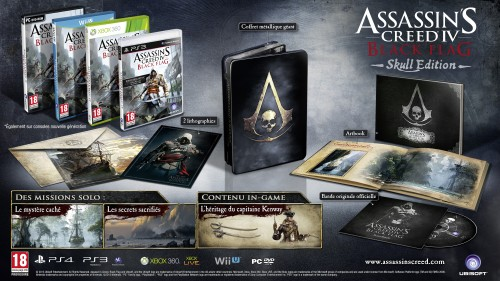 assassin's creed 4 black flag, skull, collector