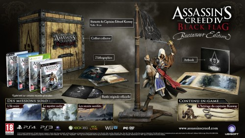 assassin's creed 4 black flag, buccaneer, collector