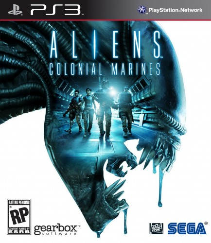 aliens colonial marines, jaquette, PS3