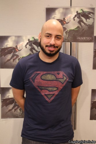 injustice,injustice gods among us,nether realm,interview,hector sanchez