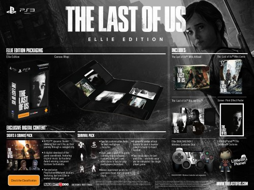 last of us,the last of us,collector,trailer,artbook,craquage