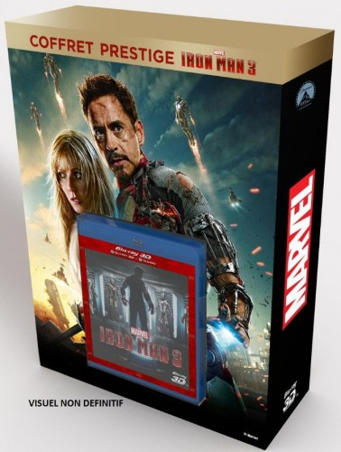 iron man 3,marvel,blu-ray,collector,craquage