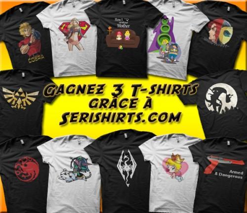 serishirts.com, gagner, t-shirt, concours,