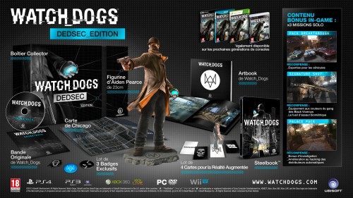 watchdogs, watch dogs, ubisoft, collector, craquage