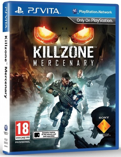 killzone mercenary, jaquette PS Vita