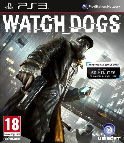 watchdogs,jaquette PS3
