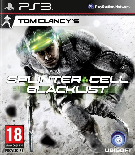 splinter cell blacklist,test, jaquette PS3