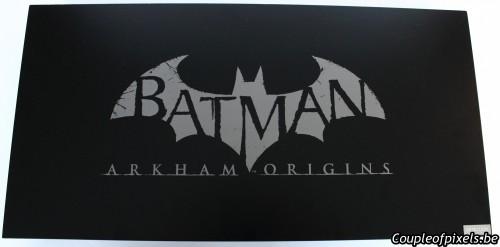 kit presse,batman,batman arkham origins,warner,batarang